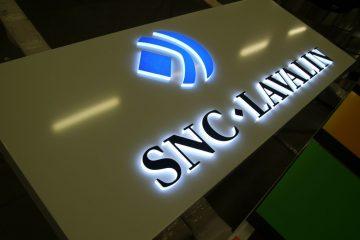 valomainoslaatikot profiili L10 - SNC Lavalin valguskast 8