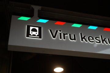 valomainoslaatikot profiili L10 - Viru keskuse bussiterminal 12