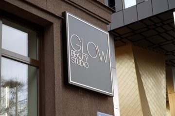 valomainoslaatikot profiili L11 - GLOW Beauty Studio valguskast 1