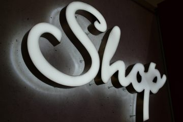 Valomainoskirjaimet profiili 3+6 - Shop ette ja taha valgustuvad tähed 2