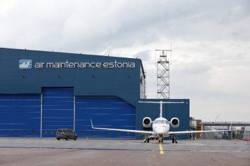 Valomainoskirjaimet profiili 4 - Air Maintenance Estonia ettevalgustuvad valgustähed 3