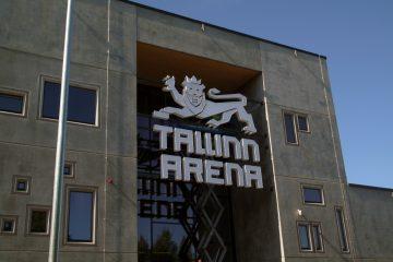 Valomainoskirjaimet profiili 5 - Tallinn Arena ettevalgustuvad logo ja tähed 3