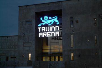 Valomainoskirjaimet profiili 5 - Tallinn Arena ettevalgustuvad logo ja tähed 4