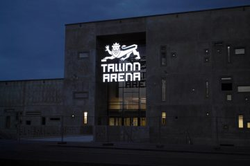 Valomainoskirjaimet profiili 5 - Tallinn Arena ettevalgustuvad logo ja tähed 5