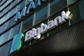 Valomainoskirjaimet profiili 6 - Bigbank ettevalgustuvad logo ja tähed 15