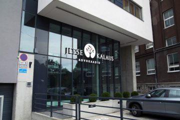 Valomainoskirjaimet profiili 6 - Jesse & Kalaus Advokaadid ettevalgustuvad logo ja tähed 1