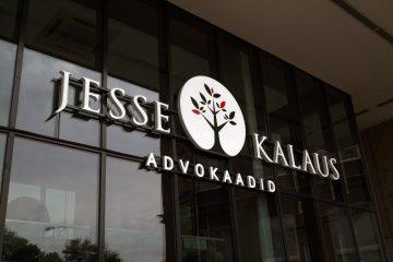 Valomainoskirjaimet profiili 6 - Jesse & Kalaus Advokaadid ettevalgustuvad logo ja tähed 2