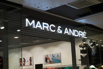 Valomainoskirjaimet profiili 6 - Mark & André kaupluse ettevalgustuvad tähed 13