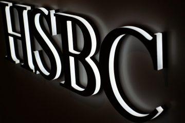 Valomainoskirjaimet profiili 9 - HSBC valgustähed , valgus suunatud külgedele ja taha 3
