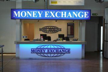 kirjaimet profiili 00 - Money Exchange MDF-ist mahuline logo 1