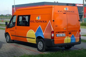 Autojen yliteippaus - Ülekleebitud KVL kaubik 4