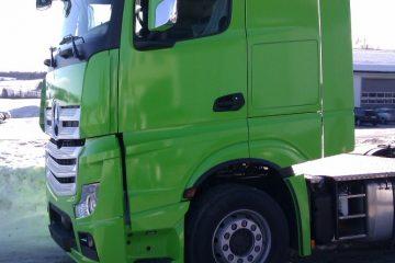 Autojen yliteippaus - Kabiini ülekleepimine roheliseks 1
