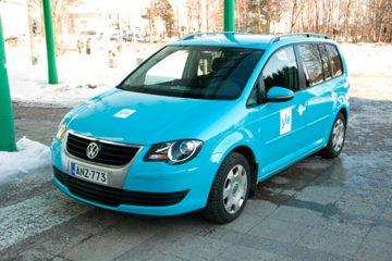 Autojen yliteippaus - Soome YLE konserni autode ülekleepimine firma värvidesse 2