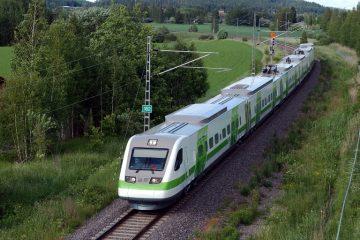 Digitaalitulostus - Soome VR Yhtiö rongide ja vagunite katmine trükitud kleebistega 2