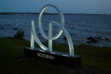 NOA restorani valgustatud logo 2