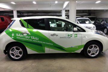 Teippaukset - Eesti Energia kampaania autode kiletamine