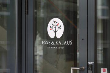 Teippaukset - Jesse & Kalaus logokleebis uksele